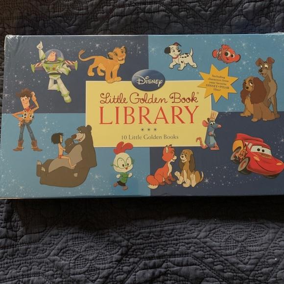 10 Little Golden Books. Disney